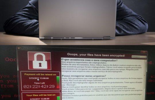 Milhares de computadores afetados pelo ransomware